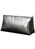 Carry-on Silver Croco