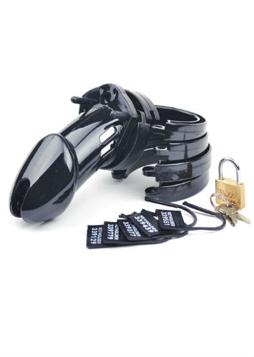 CB-6000 Kyskhetsbur Black