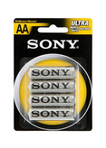 4-pack AA Batterier Sony
